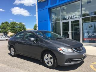Used 2013 Honda Civic Coupe LX 5MT for sale in Gatineau, QC