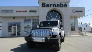 Used 2013 Jeep Wrangler SAHARA + NAV + MANUELLE + ATTELAGE DE RE for sale in Napierville, QC