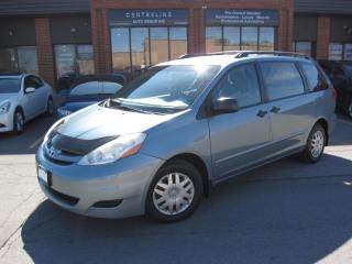 Used 2008 Toyota Sienna CE $7,495+HST+LIC FEE/ CLEAN CARFAX / 7 PASSENGER for sale in North York, ON