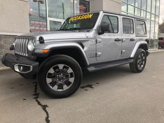 Used 2018 Jeep Wrangler Sahara for sale in Ste-Agathe-des-Monts, QC