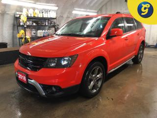 Used 2018 Dodge Journey Crossroad * AWD * 7 passenger * 8.4 inch touchscreen U connect * Leather * Reverse assist * Remote start *  Phone connect * Voice recognition *  Keyle for sale in Cambridge, ON