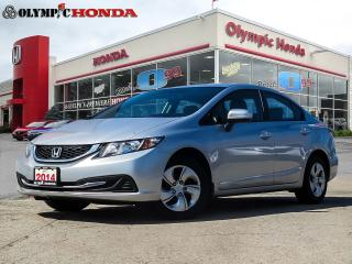 Used 2014 Honda Civic LX Sedan for sale in Guelph, ON