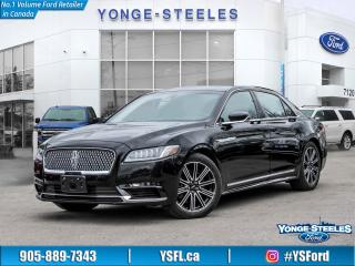 Used 2017 Lincoln Continental Reserve for sale in Thornhill, ON