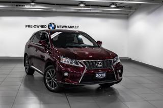 Used 2015 Lexus RX 350 6A for sale in Newmarket, ON