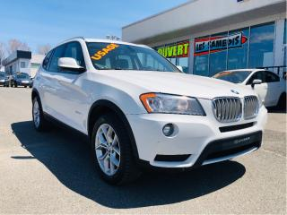 Used 2012 BMW X3 Xdrive28i A8 for sale in Lévis, QC