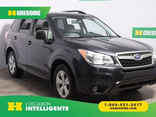 Used 2014 Subaru Forester I AWD A/C MAGS CAM for sale in St-Léonard, QC