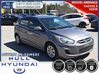 Used 2015 Hyundai Accent GL for sale in Gatineau, QC