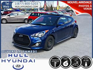 Used 2016 Hyundai Veloster Turbo, Beau Look for sale in Gatineau, QC