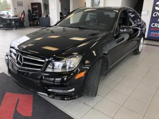 Used 2014 Mercedes-Benz C-Class 4MATIC / CUIR / TOIT / NAV for sale in Sherbrooke, QC