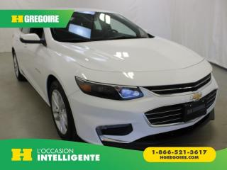 Used 2018 Chevrolet Malibu LT A/C GR-ÉLECTRIQUE for sale in St-Léonard, QC