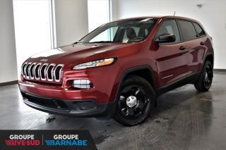 Used 2015 Jeep Cherokee SPORT + SIEGES ET VOLANT CHAUFFANT + DEM for sale in St-Jean-Sur-Richelieu, QC
