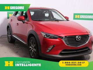 Used 2016 Mazda CX-3 Gt Awd Cuir Toit Nav for sale in St-Léonard, QC