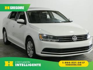 Used 2015 Volkswagen Jetta Trendline+ A/c Toit for sale in St-Léonard, QC
