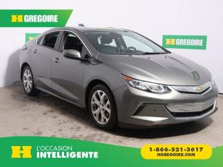 Used 2017 Chevrolet Volt PREMIER A/C CUIR for sale in St-Léonard, QC