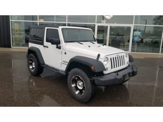 Used 2016 Jeep Wrangler Sport, Dual Tops, Bluetooth for sale in Ingersoll, ON
