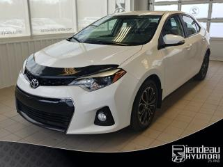 Used 2015 Toyota Corolla S + écran Tactile for sale in Ste-Julie, QC