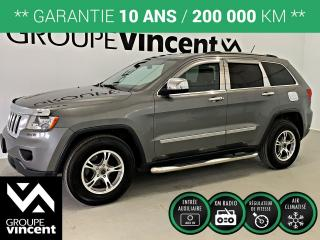 Used 2013 Jeep Grand Cherokee Laredo 4x4 Gar. 10 for sale in Shawinigan, QC