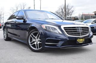 Used 2016 Mercedes-Benz S-Class S550 LWB - AMG PACKAGE - ONE OWNER - ONTARIO CAR for sale in Oakville, ON