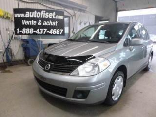 Used 2009 Nissan Versa 1.8S for sale in St-Raymond, QC