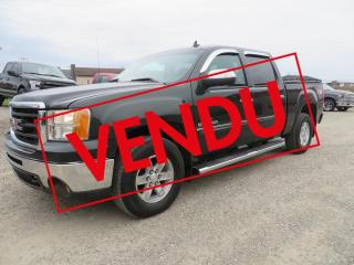 Used 2013 GMC Sierra 1500 4 RM, Cabine multiplaces 143,5 po, SLE , for sale in Lévis, QC