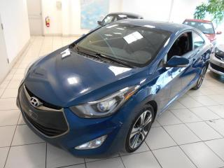 Used 2014 Hyundai Elantra Coupe*2 PORTES* GLS**CUIR,TOIT,CAMERA, for sale in Montréal, QC