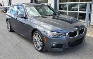 Used 2015 BMW 328 Low Mileage, M Sport for sale in Dorval, QC