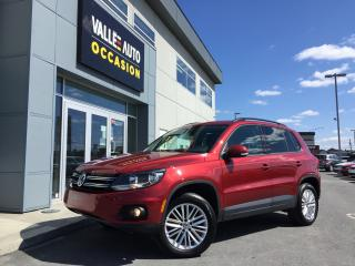 Used 2015 Volkswagen Tiguan édition Sp. Caméra for sale in St-Georges, QC