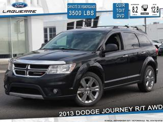 Used 2013 Dodge Journey R/t Awd 7 Places Dvd for sale in Victoriaville, QC