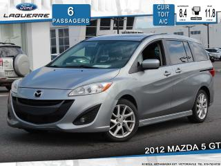 Used 2012 Mazda MAZDA5 GT CUIR TOIT for sale in Victoriaville, QC
