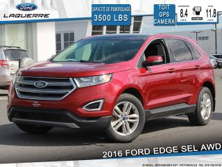 Used 2016 Ford Edge Sel Awd Toit Gps for sale in Victoriaville, QC