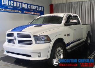 Used 2017 RAM 1500 Cabine multiplaces 4RM, 149 po Sport for sale in Chicoutimi, QC