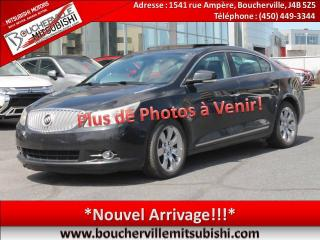 Used 2010 Buick LaCrosse Cxl Cuir for sale in Boucherville, QC