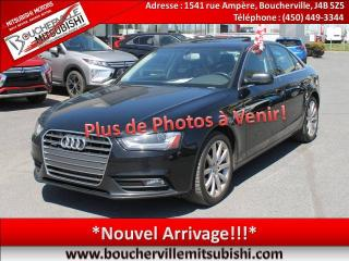 Used 2013 Audi A4 2.0T PREMIUM for sale in Boucherville, QC