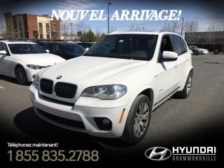 Used 2012 BMW X5 35i X-DRIVE + GARANTIE + M PACK for sale in Drummondville, QC