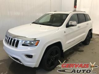 Used 2015 Jeep Grand Cherokee Overland 4x4 Cuir Toit Ouvrant Pneus Nokian neufs for sale in Trois-Rivières, QC