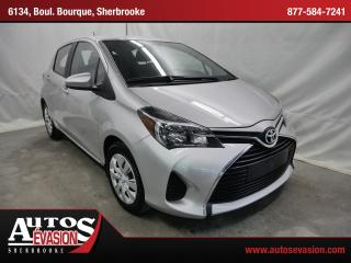 Used 2015 Toyota Yaris Le + A/c + Bluetooth for sale in Sherbrooke, QC