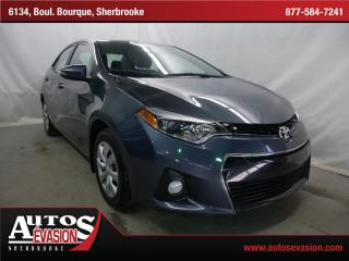 Used 2015 Toyota Corolla S + Caméra De Recul for sale in Sherbrooke, QC