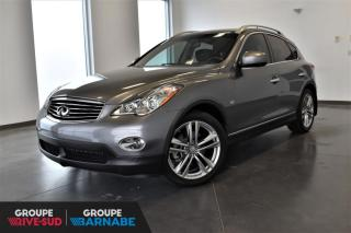 Used 2014 Infiniti QX50 JOURNEY AWD | V6 3.7L+CUIR+TOIT+CAMERA for sale in St-Jean-Sur-Richelieu, QC