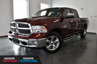 Used 2016 RAM 1500 BIG HORN + 3.0L V6 ECODIESEL + ENS REMOR for sale in St-Jean-Sur-Richelieu, QC