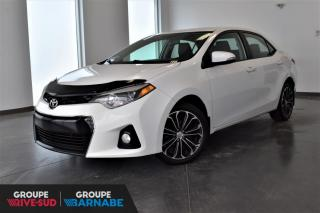 Used 2015 Toyota Corolla S | NAVIGATION+CUIR+TOIT+MAGS for sale in St-Jean-Sur-Richelieu, QC