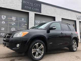 Used 2011 Toyota RAV4 Sport 4WD Sunroof 18'' Wheels for sale in Guelph, ON