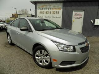 Used 2012 Chevrolet Cruze *** BAS KILO, A/C, GROUPE ELECTRIQUE*** for sale in Longueuil, QC
