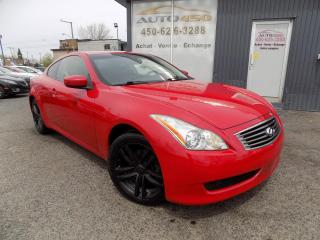 Used 2009 Infiniti G37 X ***AWD, CUIR, TOIT, A/C, TOUT EQUIPE *** for sale in Longueuil, QC