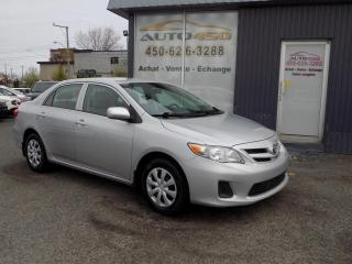 Used 2012 Toyota Corolla ***AUTOMATIQUE,AIR CLIM,BLUETOOTH*** for sale in Longueuil, QC