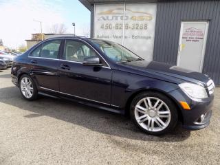 Used 2010 Mercedes-Benz C250 *** 4X4, MAGS, TOIT, TOUT EQUIPE*** for sale in Longueuil, QC