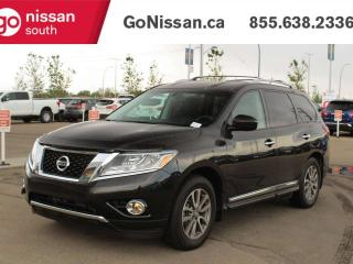 Used 2015 Nissan Pathfinder SL WITH HEATED SEATS BACK UP CAMERA 7 PASS!!! for sale in Edmonton, AB