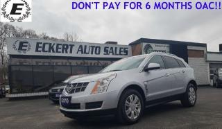 Used 2010 Cadillac SRX 3.0 Luxury/LEATHER/PAMARAMIC SUNROOF for sale in Barrie, ON