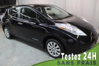 Used 2016 Nissan Leaf S (CAMERA,BLUETOOTH) CHARGE RAPIDE !! for sale in St-Constant, QC