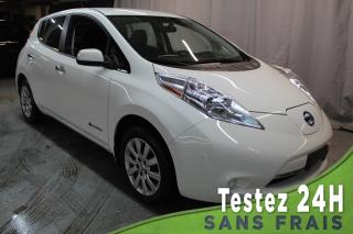 Used 2016 Nissan Leaf S (BLUETOOTH,A/C,VOLANT CHAUFFANTS) QUIC for sale in St-Constant, QC