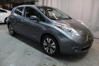 Used 2017 Nissan Leaf SV (MAGS,NAV,BLUETOOTH) QUICK CHARGE !! for sale in St-Constant, QC